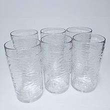 Набір склянок для коктейлю полікарбонат 373 мл 6 шт