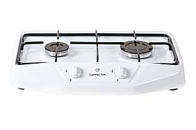 Настільна 2-х пальникова плита Greta 1103 біла