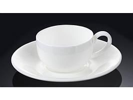 Чашка кавова з блюдцем 100мл Wilmax 993002
