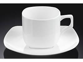 Чашка кавова і блюдце 90 мл Wilmax 993041