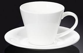 Чашка чайна 180мл з блюдцем Wilmax 993004