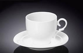 Чашка чайна з блюдцем 220мл Wilmax 993009