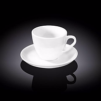 Чашка чайна з блюдцем 190мл Wilmax 993175