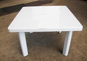 Стіл пластиковий висота 51 см 80*80 см СМ-310