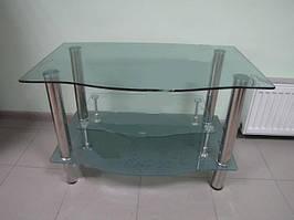 Тумбочка под TV стекло LF111 608 90х55 см матовый капля, журнальный столик