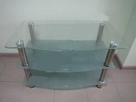 Тумбочка під ТЕЛЕВІЗОР скло LF043 607 110*60 см журнальний столик