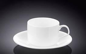 Чашка чайна, блюдце 160мл Wilmax WL-993006