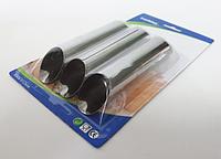 Формочка металлическая в наборе из 3-х для трубочек 12,5*2,5 см VT6-17344