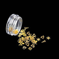 Новорічний мікс золото (50 шт)