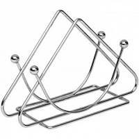 Підставка для серветок нержавійка трикутна 1 сорт 85 гр