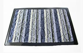 Килимок придверній тканина+гума 40*60 см VT6-17050