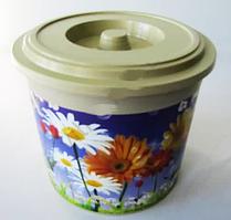Вазон 20*16,5 см CN-721 пластиковий