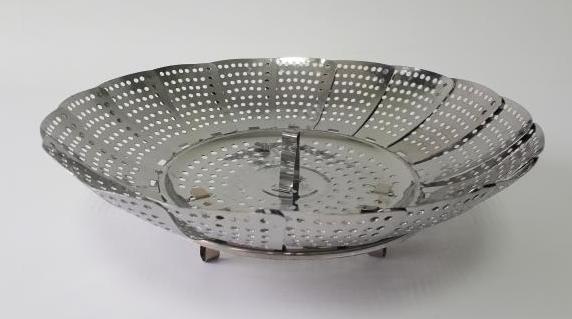 Пароварка-пелюстка нержавійка 17 см 10280-1