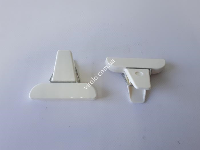 Защипы для пакетов  прищепки  пластик из 2-х L-509