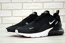 Жіночі кросівки Nike Air Max 270 Black White AH8050-002, фото 2