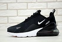 Жіночі кросівки Nike Air Max 270 Black White AH8050-002, фото 3