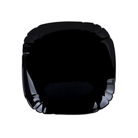 Тарілка обідня 25, 5см Luminarc Lotusia Black 7063p