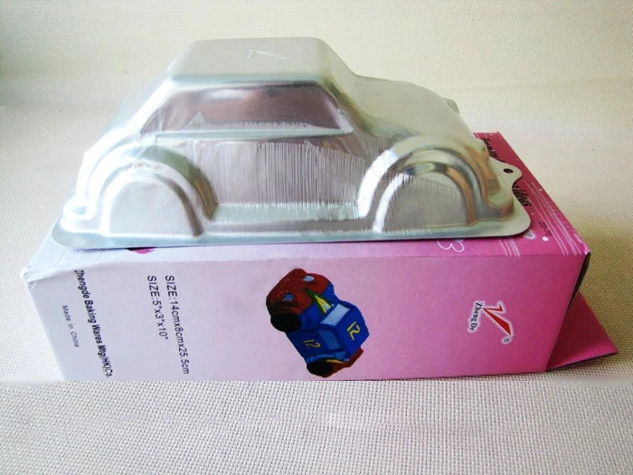 Молд кондитерський алюмінієвий Машинка 25 х 14 см