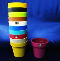 Вазон Лофли 20*18 см 3,4 л пластик DLOF 200 кашпо