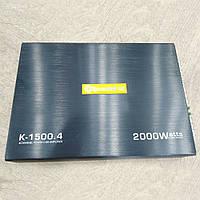 Автомобильный 4-х канальный усилитель звука Roadstar K-1500.4 (2000W)