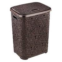 Корзина для белья Ажур Elif 322-5 коричневый #PO