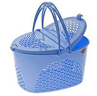 Корзина для пикника Senyayla 2330 синий, фото 1