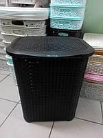 Корзина для белья Rattan Tuffex 45 л TP-7019-3 коричневый #PO