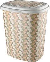 Корзина для белья Elif Геометрия 339-22 #PO