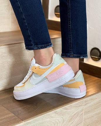 Жіночі кросівки Nike Air Force 1 Shadow Beige, фото 2