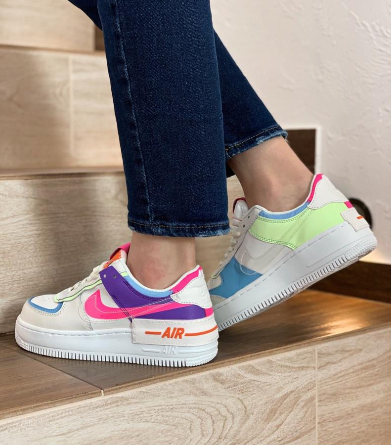 Женские кроссовки Nike Air Force Shadow Double Swoosh
