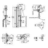 Набір змішувачів Q-tap Set CRM 40-111, фото 2
