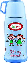Вакуумний дитячий термос 500 мл Con Brio СВ-346голуб