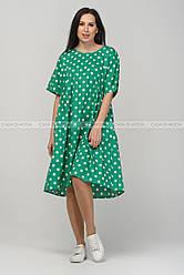Летнее женское свободное платье