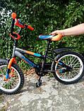 Двухколесный детский велосипед  12  дюймов Azimut Stitch, фото 4