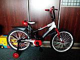 Двухколесный детский велосипед  12  дюймов Azimut Stitch, фото 3