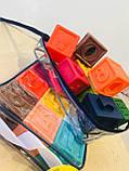 Кубики тактильные 12 шт в сумочке, фото 7