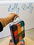 Кубики тактильные 12 шт в сумочке, фото 10