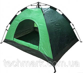 Палатка автоматическая D&T 2-х местная водонепроницаемая для кемпинга, рыбалки Зеленый