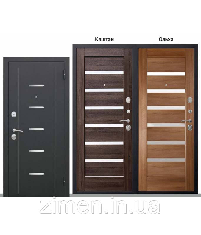 Входная дверь 90 мм ФЕРРАРА Муар Царга