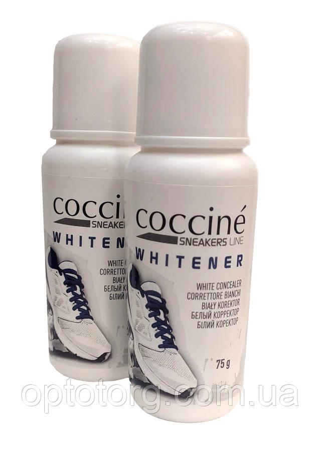 жидкая белая крем краска для обуви подошвы