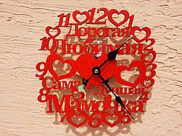 Часы. Любимой мамочке