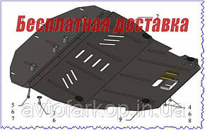 Захист двигуна Citroen Jumpy 2 (2004-2007)(Захист двигуна Сітроен Джампі) Кольчуга