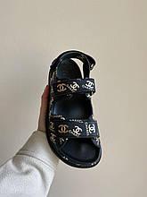 Женские сандали Chanel PA387 черные