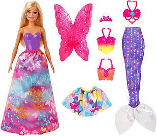 Ляльковий набір лялька Barbie Барбі Казкове перевтілення серія Міксуй та Комбінуй