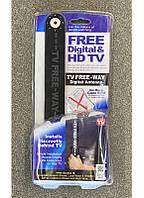 Антенна Цифровая комнатная ТВ Антенна FREE DIGITAL & HD TV ((HD Clear DOUBLE)) / ART-0228 (120шт)