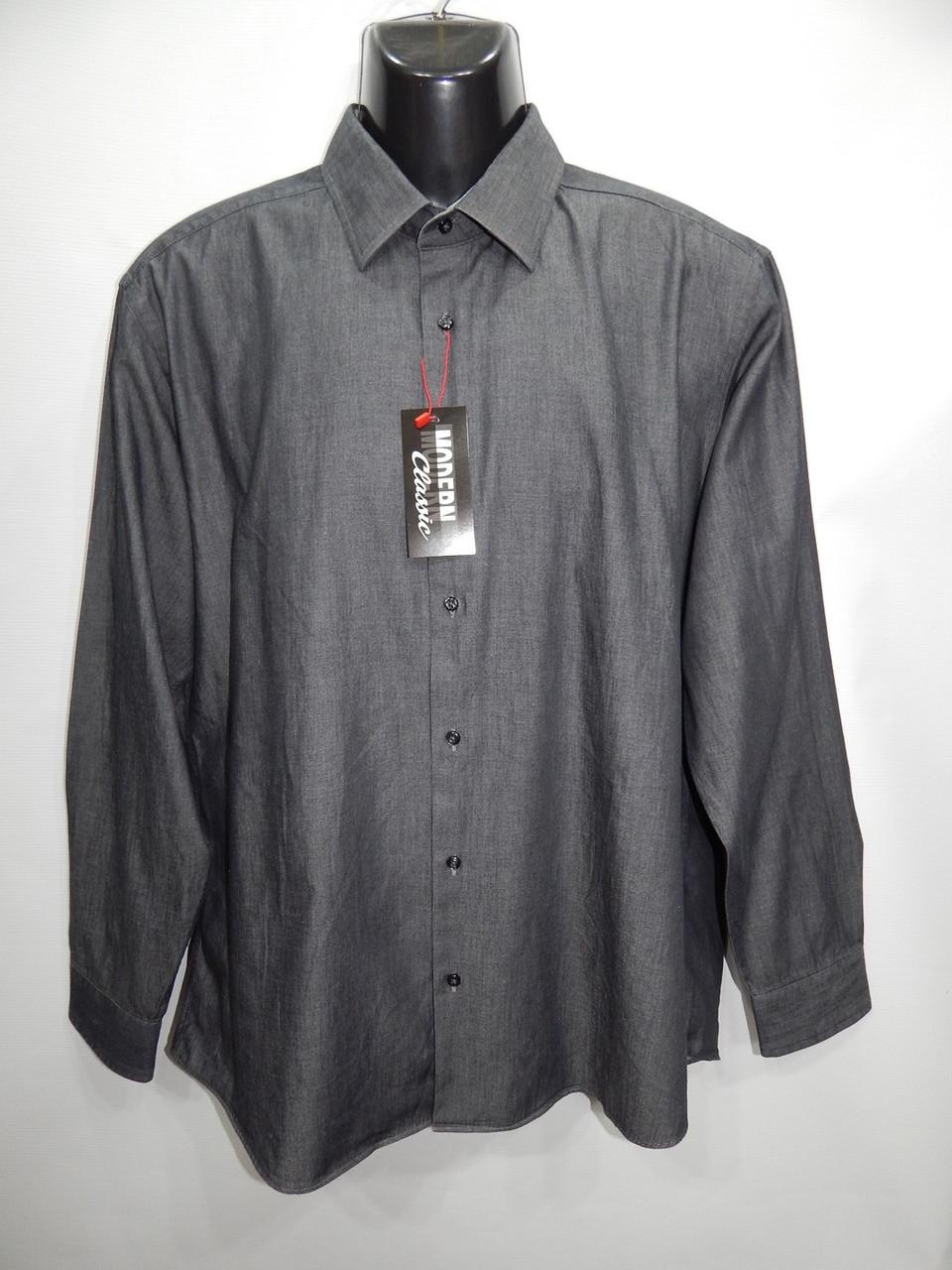 Джинсова сорочка чоловіча з довгим рукавом Ben Sherman оригінал р. 50 053ДР