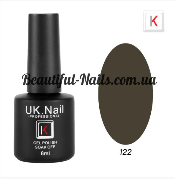 Гель-лаки UK.Nail 8мл №122