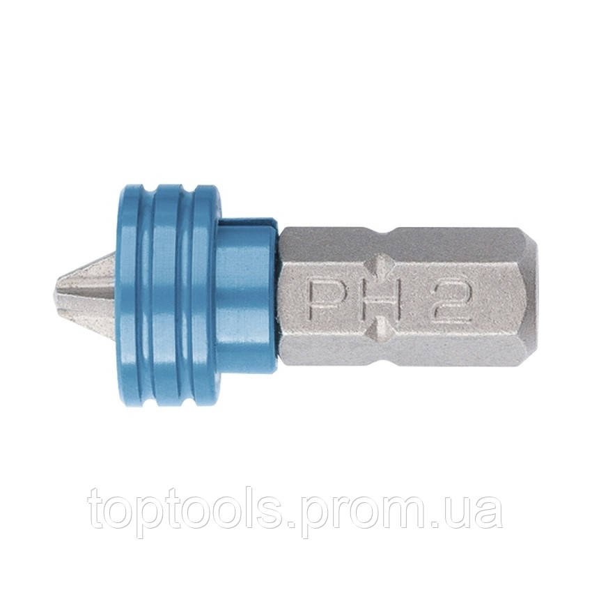 Біта РН 2x25 мм з обмежувачем і магнітом, для ГКЛ, S2 Gross