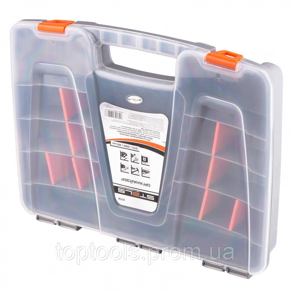 Органайзер 370х280х60 мм, пластик,  STELS