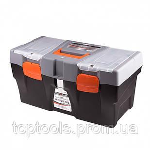 """Ящик для інструменту 590 х 300 х 300 мм (24 """"), пластиковий,  Stels"""